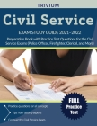 Civil Service Exam Study Guide 2021-2022: Preparation Book with Practice Test Questions for the Civil Service Exams (Police Officer, Firefighter, Cler Cover Image