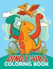Dinosaurs Coloring Book: Dover History Coloring Book for Kids and Adults, Dinosaur Coloring Pages, Dinosaur Color Book Cover Image