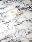 2021-2025 Five Year Planner: 60-Month Schedule Organizer 8.5 x 11 with Marble Cover (Volume 5) Cover Image