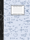 Graph Paper Notebook: Grid Composition Notebook for Math and Science Students, Blank Quad Ruled, 8.5'' x 11'', 100 pages Cover Image