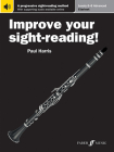 Improve Your Sight-Reading! Clarinet, Levels 6-8 (Advanced): A Progressive Sight-Reading Method, Book & Online Audio Cover Image