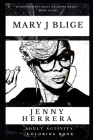Mary J Blige Adult Activity Coloring Book Cover Image