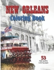 New Orleans Coloring Book: discover and color New Orleans - Louisiana (its streets, architecture, boats, musicians and more) - for adults and kid Cover Image