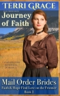 Mail Order Bride: Journey of Faith: Clean Western Historical Romance Cover Image