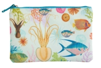 Art of Nature: Under the Sea Accessory Pouch: (Nature Stationery, Pencil Pouch)  Cover Image