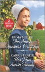 The Amish Spinster's Courtship and Her New Amish Family: A 2-In-1 Collection Cover Image