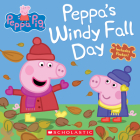 Peppa's Windy Fall Day (Peppa Pig) Cover Image