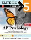 5 Steps to a 5: AP Psychology 2020 Elite Student Edition Cover Image