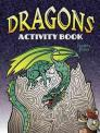 Dragons Activity Book Cover Image