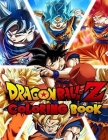 Dragon Ball Z Coloring Book: +50 High Quality Illustrations For Kids And Adults In Art Therapy And Relaxation, Perfect Christmas Gift For Kids And Cover Image