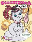 Steampunk for Kids: Coloring Book Cover Image