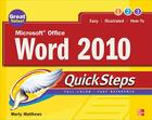 Microsoft Office Word 2010 Quicksteps Cover Image