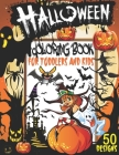 Halloween Coloring Book for Toddlers and Kids: 50 Fun and Easy Happy Halloween Coloring Pages, Halloween Coloring Books for Kids Ages 2-4, 4-8, Horror Cover Image