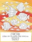 Libro de colorear para adultos - Mandala - Animales - Peces Cover Image