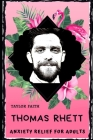 Thomas Rhett Anxiety Relief for Adults: Effective Stress Relief and Anxiety Therapy Coloring Book Cover Image