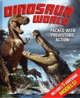 Dinosaur World [With 5 Press-Out Dinosaur Models] Cover Image