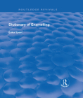 Dictionary of Enamelling: History and Techniques (Routledge Revivals) Cover Image