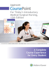 Lippincott CoursePoint for Timby's Introductory Medical-Surgical Nursing Cover Image