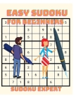 Easy Sudoku for Beginners - 200 Sudoku Puzzles with Solution Cover Image