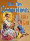 The Ten Commandments: I Obey God (St. Joseph Picture Books) Cover Image