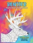 Malbücher für Erwachsene - Stressabbau Designs Tiere - Vögel und Tiere - Rentier Cover Image