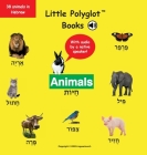 Animals: Hebrew Vocabulary Picture Book (with Audio by a Native Speaker!) Cover Image