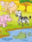 Jungle Animals Coloring Book 2 Cover Image