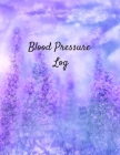 Blood Pressure Log: Daily Portable Blood Pressure Record Book, 53 Weeks of Daily Readings. Spaces per Day for Time, Blood Pressure, Heart Cover Image