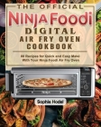 The Official Ninja Foodi Digital Air Fry Oven Cookbook Cover Image