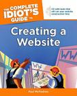 The Complete Idiot's Guide to Creating a Website [With CDROM] Cover Image