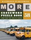 Large Crossword puzzles for Seniors: beginners crossword puzzle books for adults - More 50 Easy Puzzles Large Print Crosswords to Keep you Entertained Cover Image