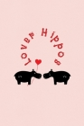 Lover Hippos: Valentine's Day Gift - ToDo Notebook in a cute Design - 6