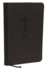 Kjv, Value Thinline Bible, Large Print, Leathersoft, Black, Red Letter Edition, Comfort Print Cover Image