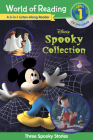 World of Reading Disney's Spooky Collection 3-in-1 Listen-Along Reader (Level 1 Reader): 3 Scary Stories with CD! Cover Image
