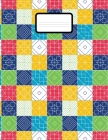 Math Notebook: Grid Paper Notebook 1 20 Sheets Large 8.5 x 11 Quad Ruled 5x5 Cover Image