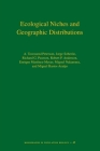 Ecological Niches and Geographic Distributions (Monographs in Population Biology #49) Cover Image