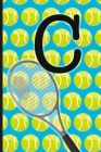 C: Tennis Monogram Initial Notebook for boys Letter C - 6