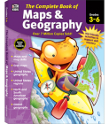 The Complete Book of Maps & Geography, Grades 3 - 6 Cover Image