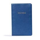 KJV Gift and Award Bible, Blue Imitation Leather: Red Letter, Easy-to-Carry, Smythe Sewn, Full-Color Maps, Double Column, Concordance, Dictionary, Great Value Cover Image