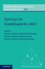 Surveys in Combinatorics 2021 (London Mathematical Society Lecture Note) Cover Image