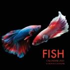 Fish Calendar 2021: 16 Month Calendar Cover Image
