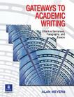 Gateways to Academic Writing: Effective Sentences, Paragraphs, and Essays Cover Image
