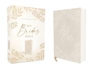 Niv, Bride's Bible, Cloth Over Board, Cream, Red Letter, Comfort Print Cover Image