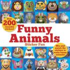 Funny Animals Sticker Fun: Mix and Match the Stickers to Make Funny Animals (Dover Children's Activity Books) Cover Image