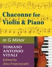 Vitali - Chaconne in G Minor for Violin & Piano Cover Image