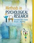 Methods in Psychological Research Cover Image