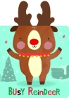 Snuggles: Busy Reindeer: Board Books with Plush Ears Cover Image