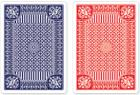 Blue and Red Premium Playing Cards, Two Standard Decks Cover Image