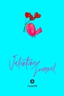 Valentine Journal for girls ages 10+ Girl Diary Journal for teenage girl Dot Grid Journal 122 pages 6x9 Inches: Love Bird Aqua color Cover Image