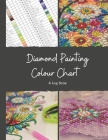 Diamond Painting Colour Chart and Log Book: DMC colour chart and diamond painting log book, Journal, organiser with drills inventory system. Record al Cover Image